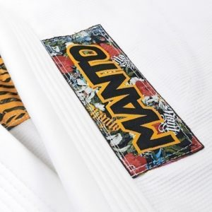 Manto BJJ Gi Ladies Floral vit 6