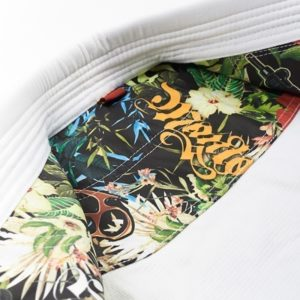 Manto BJJ Gi Ladies Floral vit 8