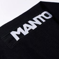 Manto BJJ Gi Technico svart 8