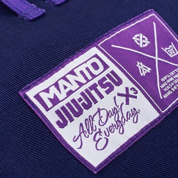 Manto BJJ Gi X3 navy 7