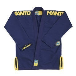 Manto BJJ Gi X3 navy gul 1