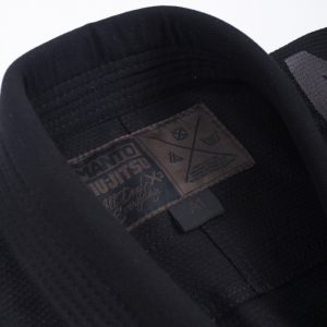 Manto BJJ Gi X3 svart gra 4