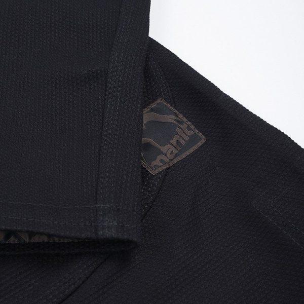 Manto BJJ Gi X3 svart gra 8