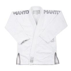 Manto BJJ Gi X3 vit silver 1