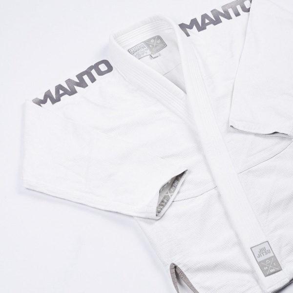 Manto BJJ Gi X3 vit silver4
