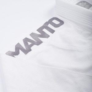 Manto BJJ Gi X3 vit silver8
