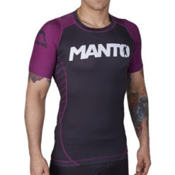 Manto Rashguard Champ BJJ Ranked purple 1