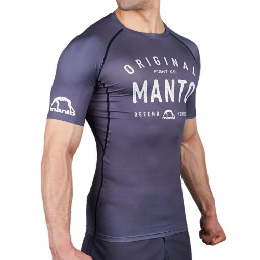 Manto Rashguard Old School gra 1