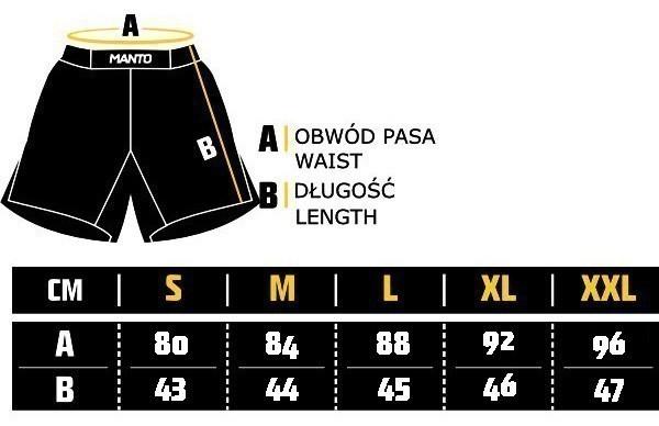 Manto Shorts Emblem size
