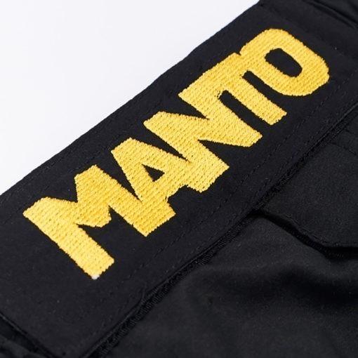Manto Shorts Emblem svart 2