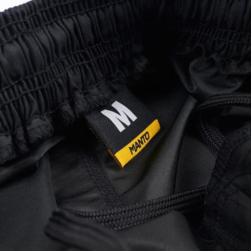 Manto Shorts Emblem svart 4