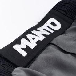 Manto Shorts Emblem svart gra 2
