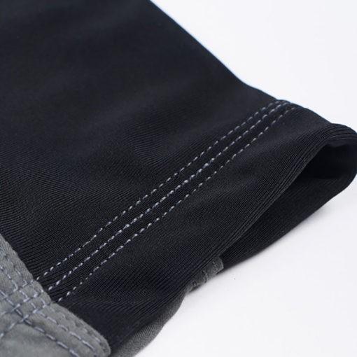 Manto Shorts Emblem svart gra 4