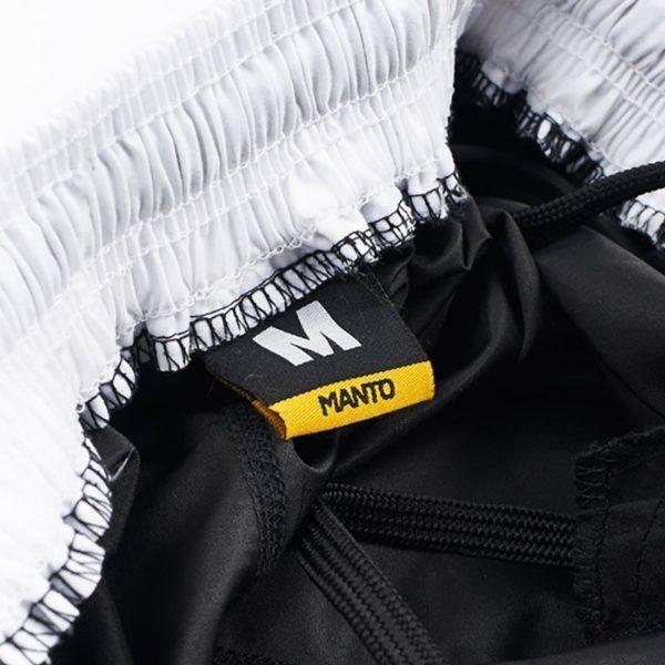 Manto Shorts Emblem svart vit 4
