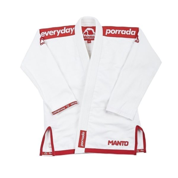 Manto x Everyday Porrada BJJ Gi vit 1