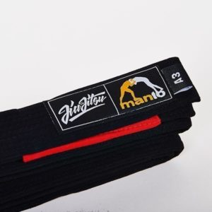 Manto BJJ Belt black 1