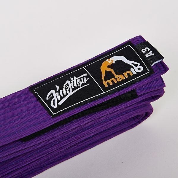 Manto BJJ Belt purple 1