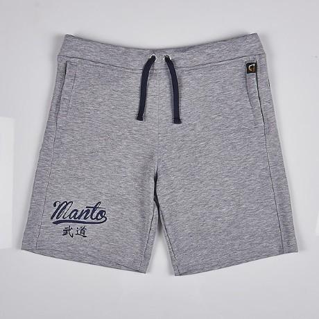 Manto Cotton Shorts Tokyo grey 3