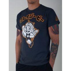 Manto_x_Krazy_Bee_T-shirt_Hacchi_Kun_ graphite_1
