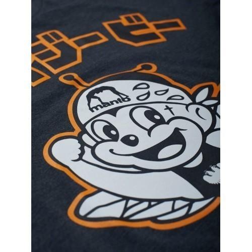 Manto x Krazy Bee T shirt Hacchi Kun  graphite 3