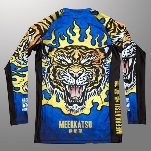 Meerkatsu Rashguard Fire Tiger 1