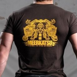 Meerkatsu T Shirts Heavenly Lions brown 2