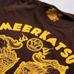 Meerkatsu T Shirts Heavenly Lions brown 3