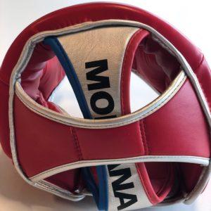 Montana Boxningshjalm rod 4