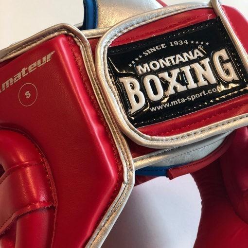 Montana Boxningshjalm rod 5