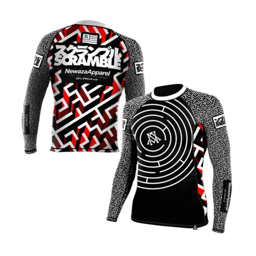Newaza Scramble Rashguard The Seeker