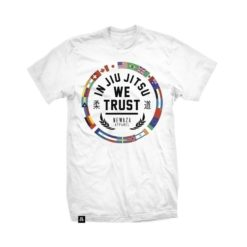 Newaza T shirt In Jiu Jitsu The World Trust vit