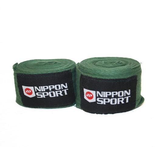 Nippon Sport Boxningslindor 4m army