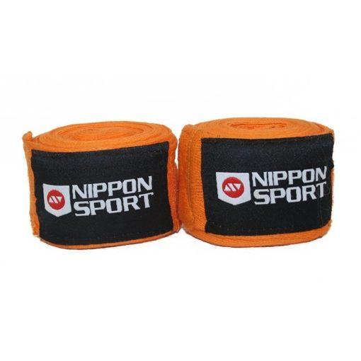 Nippon Sport Boxningslindor 4m orange