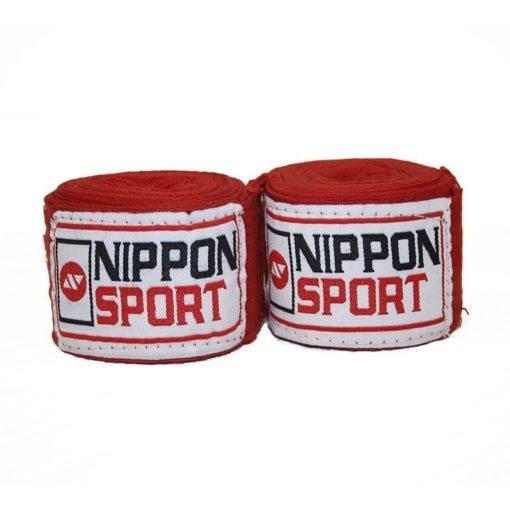 Nippon Sport Boxningslindor 4m red