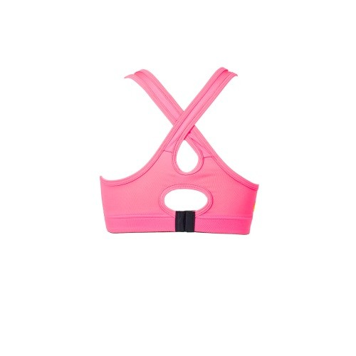Nock Out Ladies Clips closure bra Pink Back