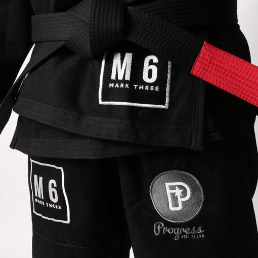 Progress Jiu Jitsu BJJ Gi M6 MK3 svart 1