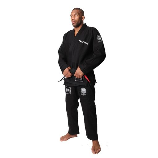 Progress Jiu Jitsu BJJ Gi M6 MK3 svart 2