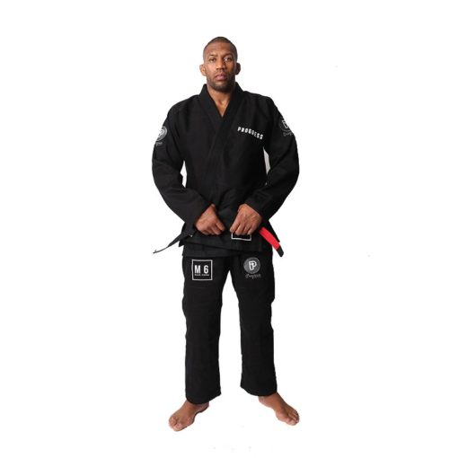 Progress Jiu Jitsu BJJ Gi M6 MK3 svart 4