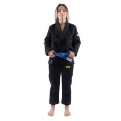 Progress Jiu Jitsu BJJ Gi Womens Foundation svart 2