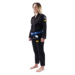 Progress Jiu Jitsu BJJ Gi Womens Foundation svart 3
