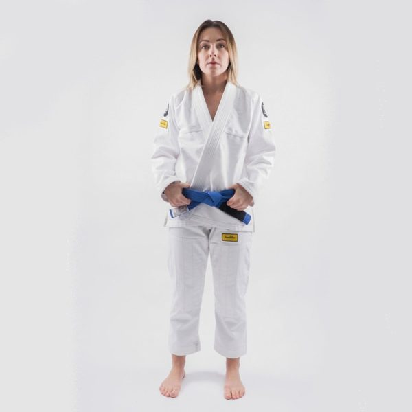 Progress Jiu Jitsu BJJ Gi Womens Foundation vit 1