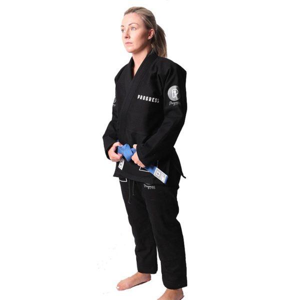 Progress Jiu Jitsu BJJ Gi Womens M6 MK3 svart 2