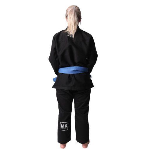 Progress Jiu Jitsu BJJ Gi Womens M6 MK3 svart 3