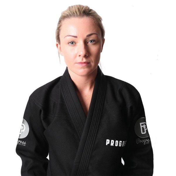 Progress Jiu Jitsu BJJ Gi Womens M6 MK3 svart 4