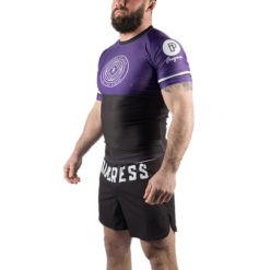 Progress Jiu Jitsu Rashguard Ranked lila 1
