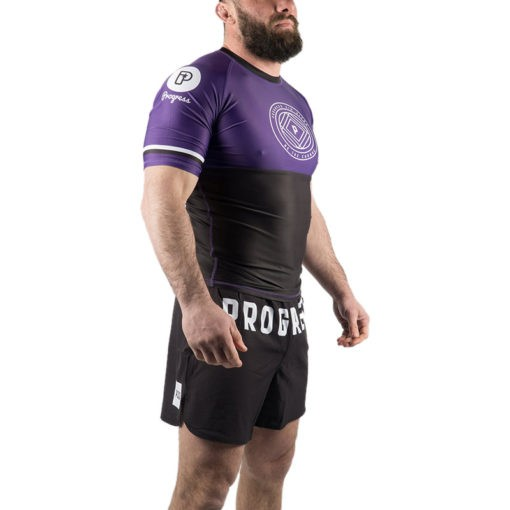 Progress Jiu Jitsu Rashguard Ranked lila 2