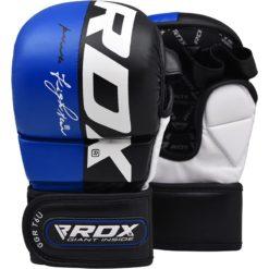 RDX MMA Sparringhandskar T6 Bla 1