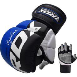 RDX MMA Sparringhandskar T6 Bla 4