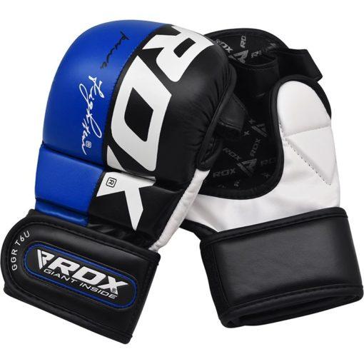 RDX MMA Sparringhandskar T6 Bla 7