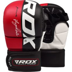 RDX MMA Sparringhandskar T6 Rod 1